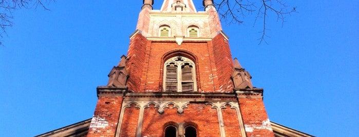 Anglikāņu Sv. Pestītāja baznīca is one of OnLine-Traveller.ru.