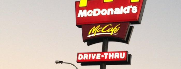 McDonald's is one of Junk Food.