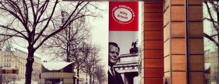 Forum Willy Brandt is one of Berlin for free.