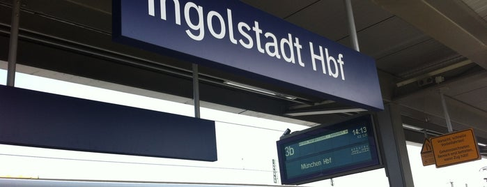Ingolstadt Hauptbahnhof is one of Bahnhöfe Deutschland.