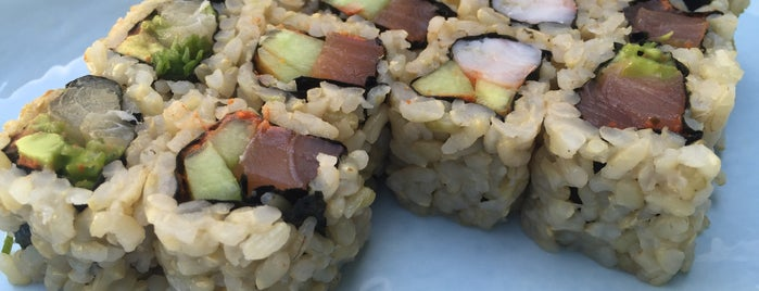 Homma's Brown Rice Sushi is one of Personal Favorites.
