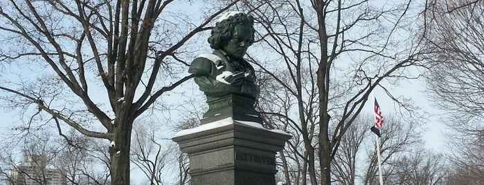 Ludwig van Beethoven Bust is one of NYC Monuments & Parks.