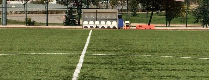 Üniversite Evleri Sentetik Futbol Sahası is one of Eskişehir Stadyum ve Futbol Sahaları.