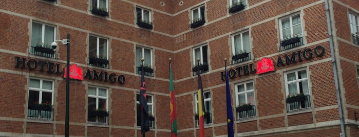 Amigo Hotel is one of Brussels Sightseeing.