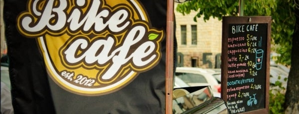Bike Cafe is one of Hot Design, Art and Living in Poznań.
