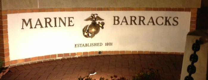 Marine Barracks Washington is one of DC's favorites.