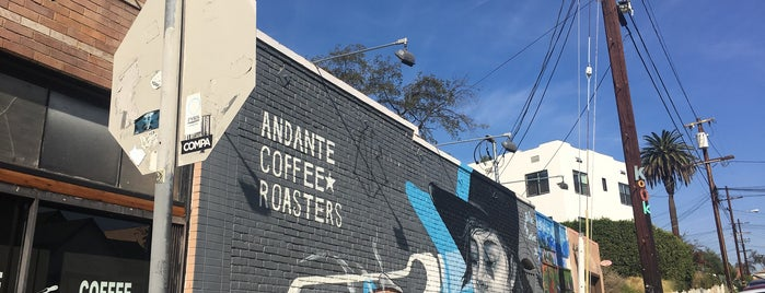 Andante Coffee Roasters is one of Work.