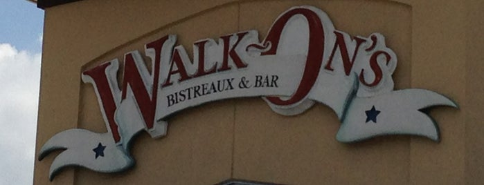 Walk-On's Bistreaux & Bar is one of Baton Rouge Places to Eat.