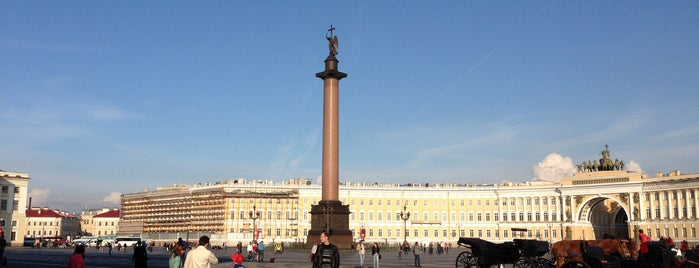 Palace Square is one of UNESCO World Heritage Sites.
