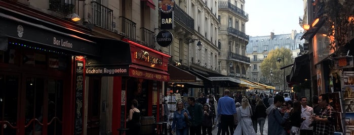 Quartiere latino is one of Paris.