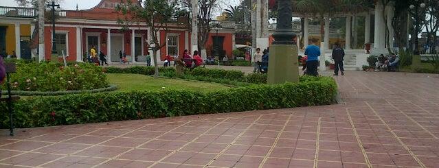 Parque Municipal de Barranco is one of Peru!.