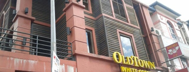 OldTown White Coffee Signature is one of Top picks for Cafés.