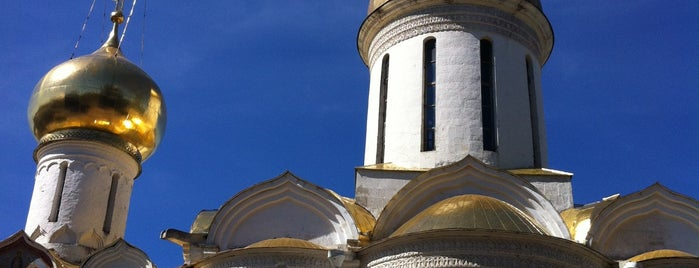 The Holy Trinity-St. Sergius Lavra is one of UNESCO World Heritage Sites.