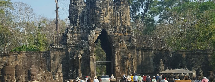 Angkor Thom Victory Gate is one of Loisirs.