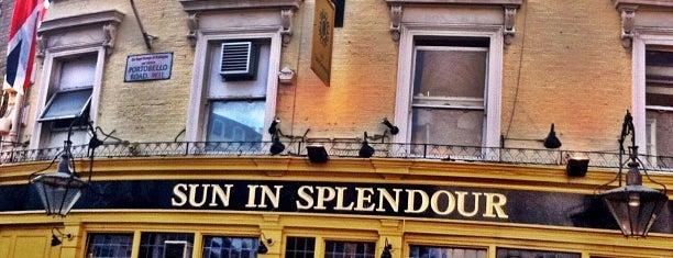 Sun in Splendour is one of BMAG's Pubs.