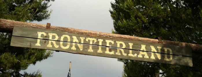 Frontierland is one of Disneyland.