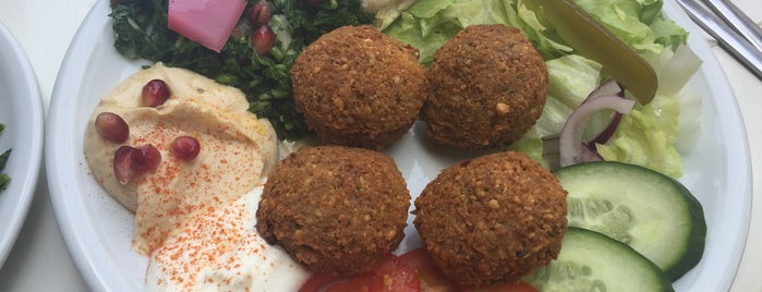 make falafel not war is one of Essen.