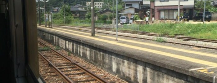 Bizen-Katakami Station is one of JR線の駅.