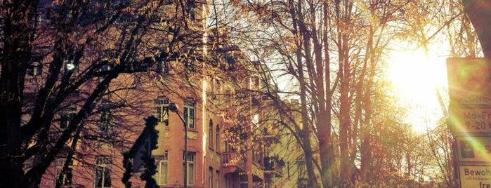 Rheingauviertel is one of Mainz♡Wiesbaden.