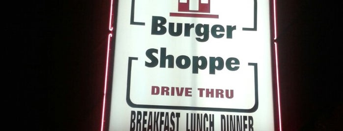 Burger Shoppe is one of Top picks for Burger Joints.