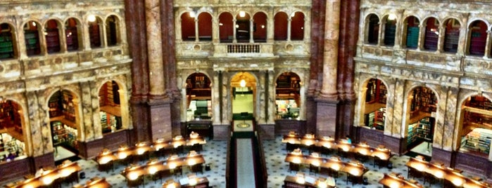 Library of Congress is one of The 15 Best Places for Tours in Washington.