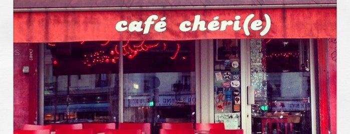 Café Chéri(e) is one of เที่ยวช้อปปิ้ง Paris!.