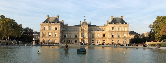 Grand Bassin du Jardin du Luxembourg is one of Paris.