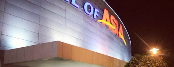 SM Mall of Asia is one of Places I've been to....