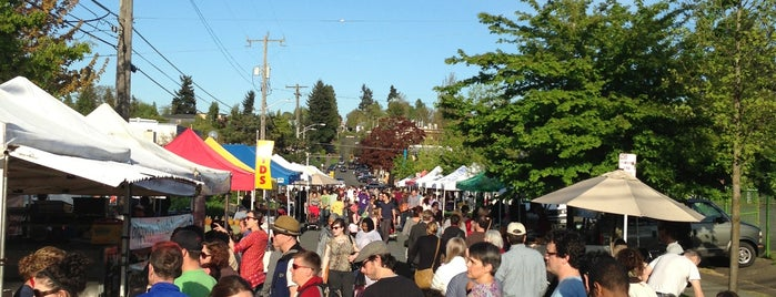 Columbia City Farmers Market is one of Find Well-being in the City.