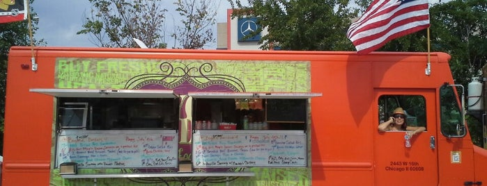 Beyond Borders Food Truck is one of chicago spots.