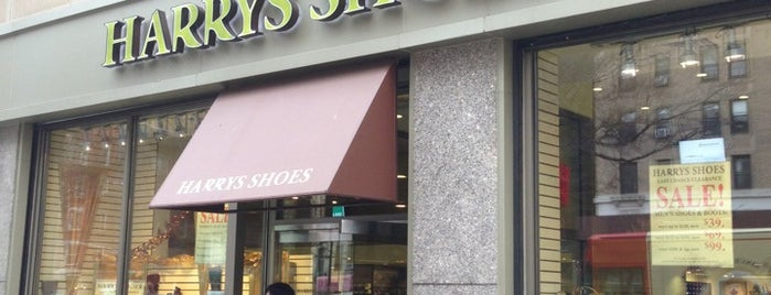 Harry's Shoes is one of NYC.