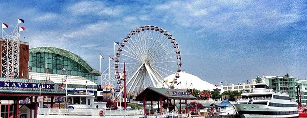 Navy Pier is one of Pinpointed locations.