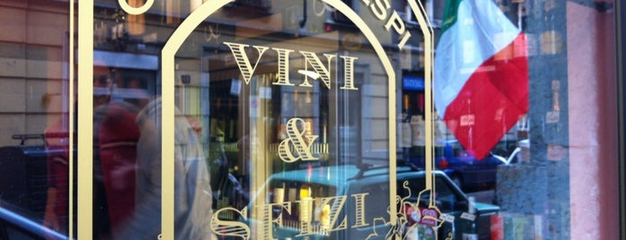 Osteria Crespi  VINI & SFIZI is one of Milan(o) the BEST! = Peter's Fav's.