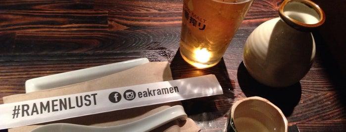 EAK Ramen is one of LA: Central, East, Valleys.