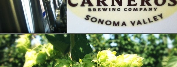 Carneros Brewing Company is one of Wine Country.