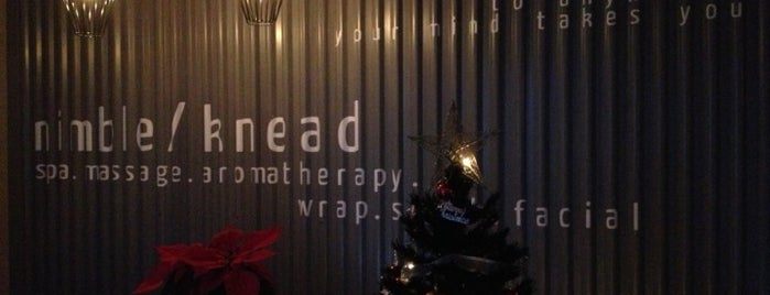 Nimble/Knead - Come to our spa. Go far. is one of To Check Out - Chillax.