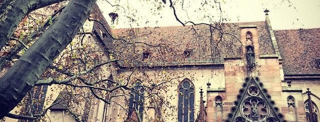 Église Saint-Pierre-le-Jeune protestant is one of Strasbourg for Chris.