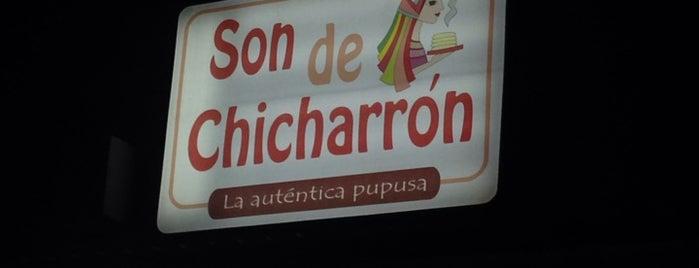 Son de chicharrón is one of Restaurantes.
