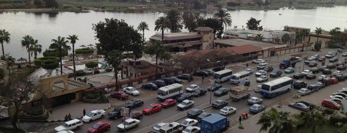 Corniche El Maadi is one of فى الطريق ...