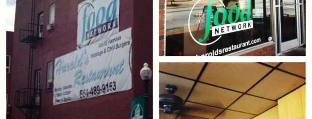 Harold's Restaurant is one of Triple D Restaurants.