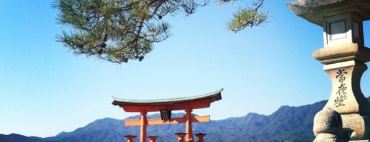 Itsukushima-jinja Shrine is one of 気になる場所.