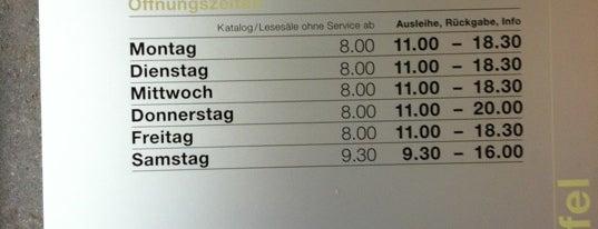 Zentral- und Hochschulbibliothek is one of Discover Lucerne.
