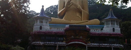 Dambulla Rock Temple and Golden Temple is one of Trips / Sri Lanka.