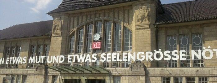Darmstadt Hauptbahnhof is one of Bahnhöfe Deutschland.