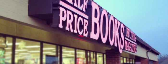 Half Price Books is one of DFW Record Stores.