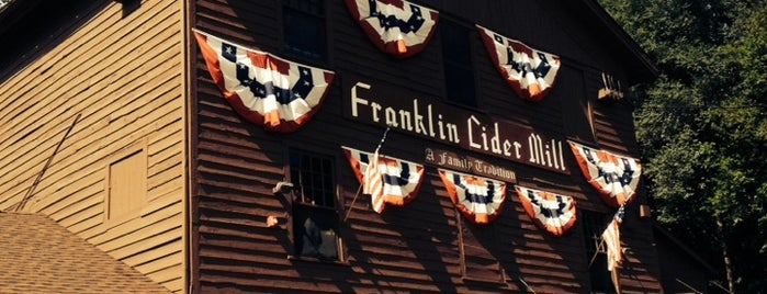 Franklin Cider Mill is one of Dan's Places.