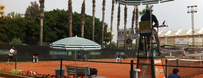 Mersin Tenis İhtisas Kulübü (METİK) is one of Mersin.