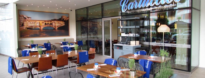 Carluccio's is one of burger and pizza.