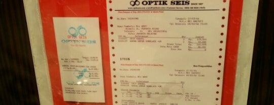 Optik Seis is one of Venue Of Mal Bali Galeria.