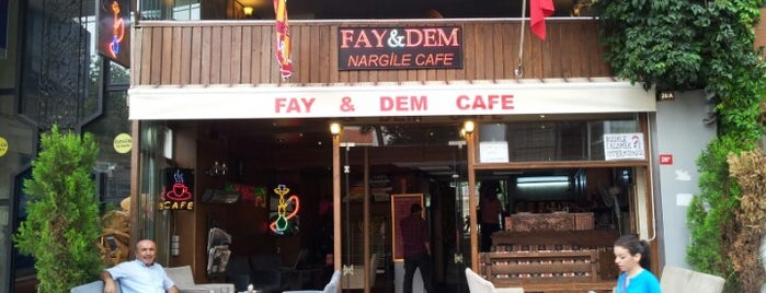 Fay&Dem Nargile Cafe is one of Nargile Istanbul.